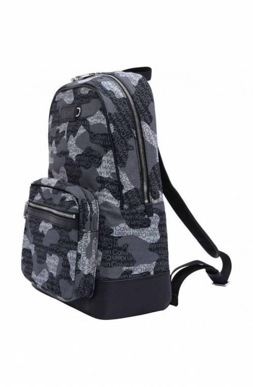 CALVIN KLEIN Backpack CAMPUS Male Multicolor - K50K50810401G