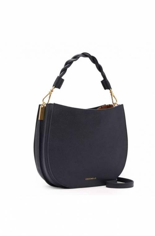 COCCINELLE Bag Arpege Medium Noir/Caramel Female Leather - E1IGF150101919