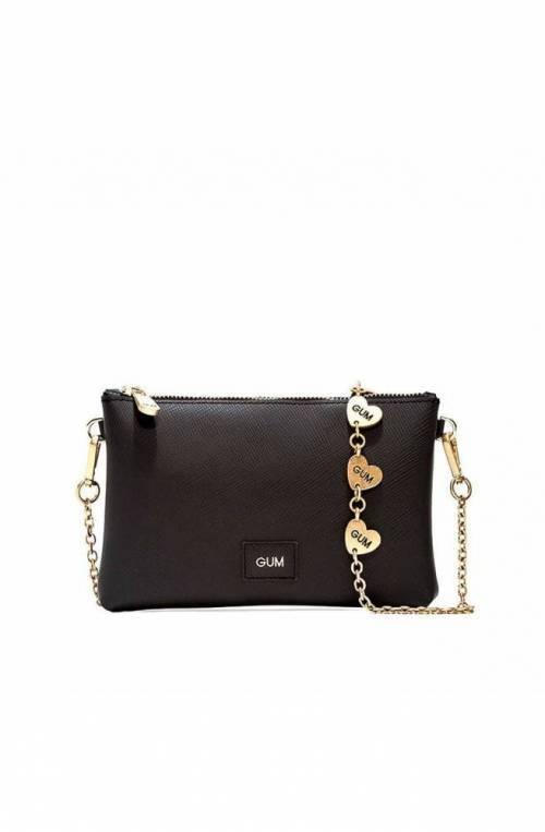 GUM Bag HEART CHAIN Female Black - 113721AIHEARTCH10033