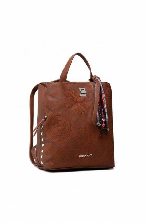 DESIGUAL Backpack DEJA VU SUMY MINI Ladies Brown - 21WAKP09-6011-U