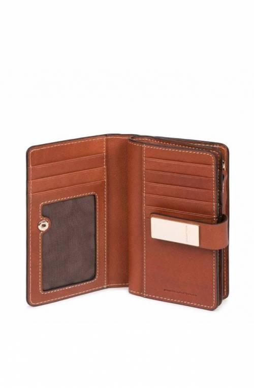 PIQUADRO Wallet Dafne Female Leather Brown - PD1353DFR-CU