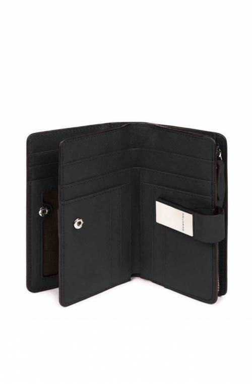 PIQUADRO Wallet Dafne Female Leather Black - PD1353DFR-N