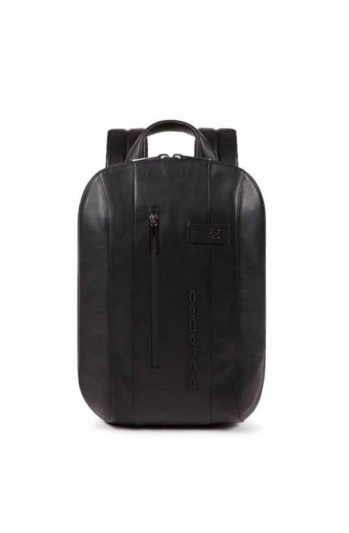 PIQUADRO Backpack Urban mini Male Leather Black - CA5608UB00-N