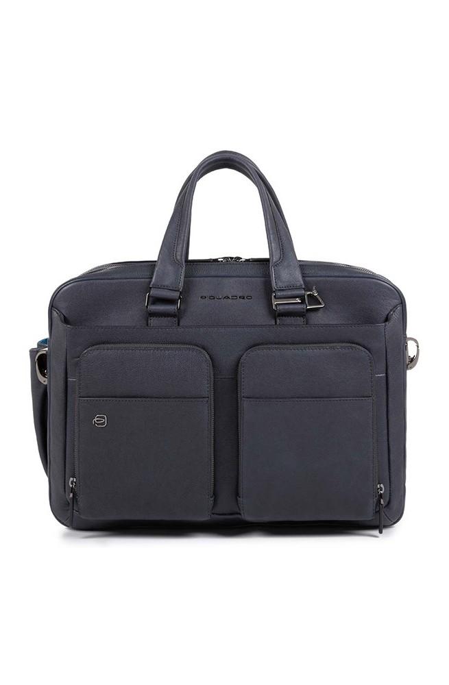 Borsa PIQUADRO BagMotic Uomo Pelle Blu - CA3950B3BM-BLU