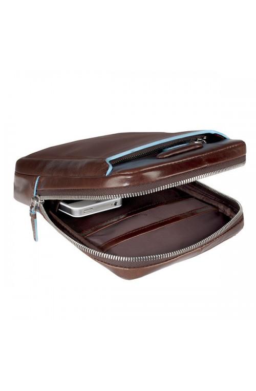 PIQUADRO Bag BLU SQUARE Male Pocketbook Blue - CA3084B2-BLU2