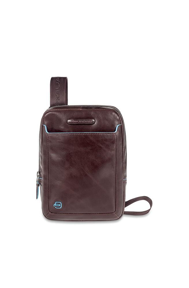 PIQUADRO Tasche BLU SQUARE Herren Umhängetasche Braun - CA3084B2-MO