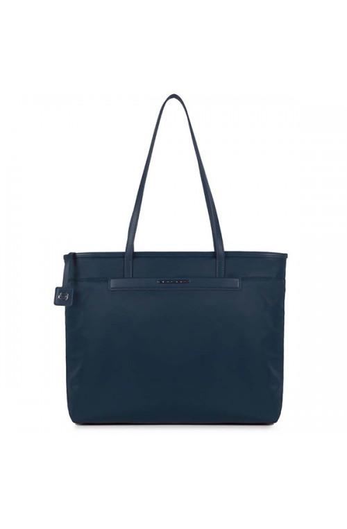Borsa PIQUADRO LOIRE Donna shopping Blu - BD4010S91-BLU