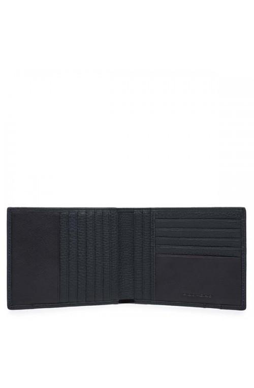 PIQUADRO Wallet ILI Male Leather Blue - PU1241S86-BLU