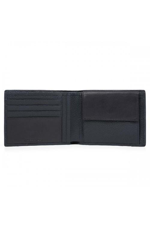 PIQUADRO Wallet ILI Male Leather Blue - PU257S86-BLU