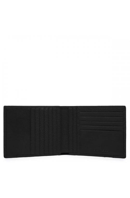 PIQUADRO Wallet ILI Male Leather Black - PU1241S86-N