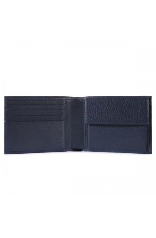 PIQUADRO Wallet Modus Man blue PU257MO-BLU