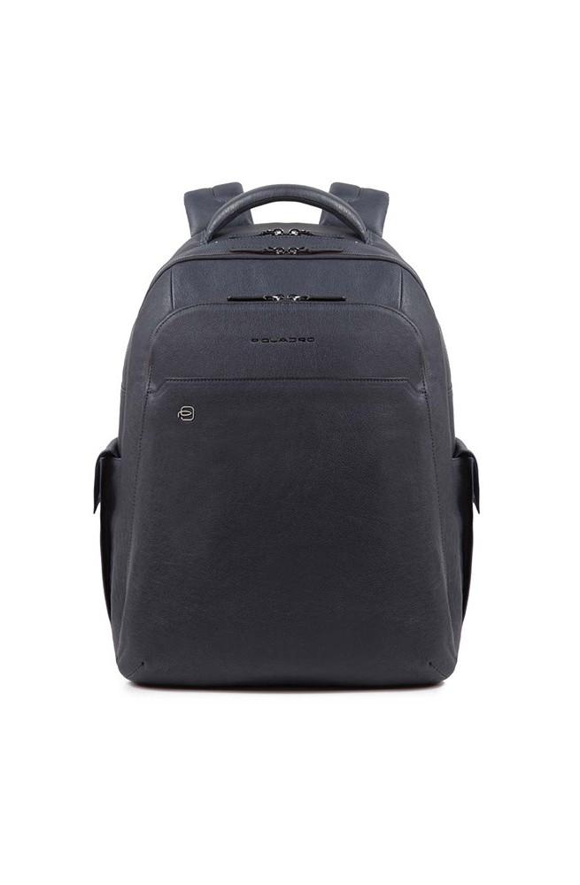 PIQUADRO Backpack BagMotic Man Leather Blue CONNEQU - CA3444B3BM-BLU