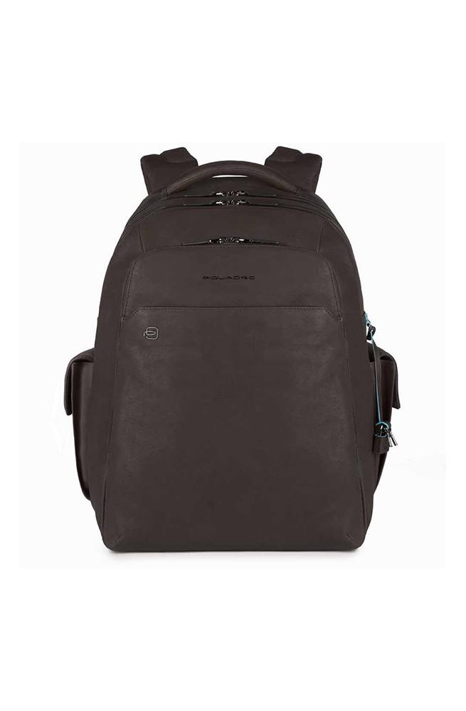 PIQUADRO Backpack BagMotic Man Leather Brown CONNEQU - CA3444B3BM-TM