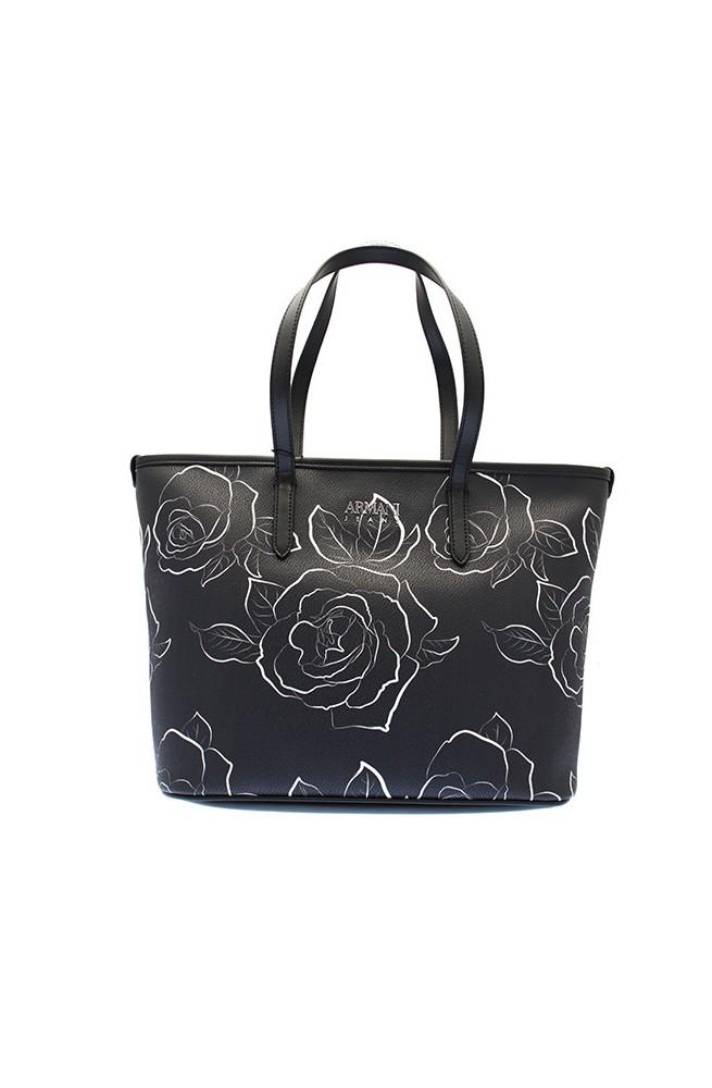 ARMANI JEANS Bag Female Black White - 9222947A81007520