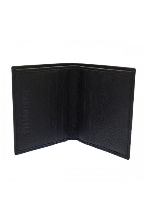 Portafoglio BIKKEMBERGS Metal Plate Maschile Nero - 7ADD3712D0101