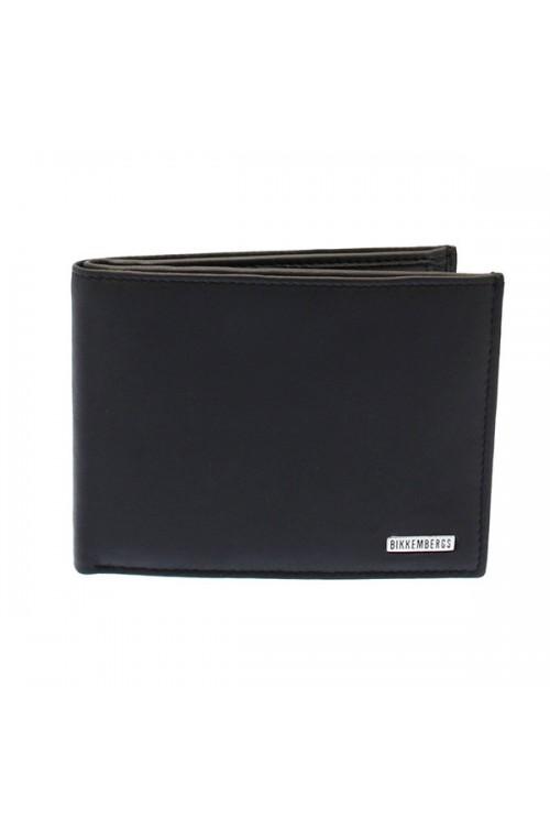 BIKKEMBERGS Wallet Metal Plate Male Black - 7BDD91020D301